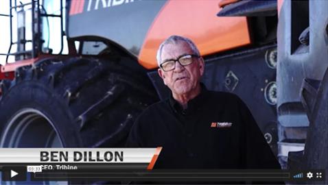 Ben Dillion Tribine CEO